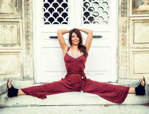 Yoga Eğitmeni Kaya ile Fotoğraf Çekimi