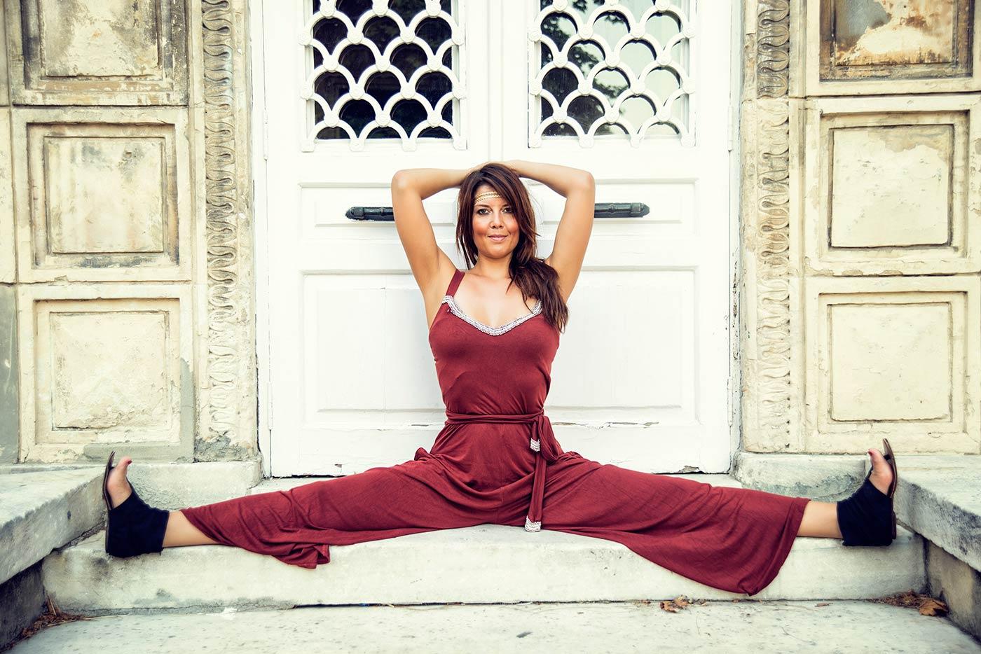 I shot Kaya for her Yoga school Kaya Yoga in Çukurcuma, Istanbul.