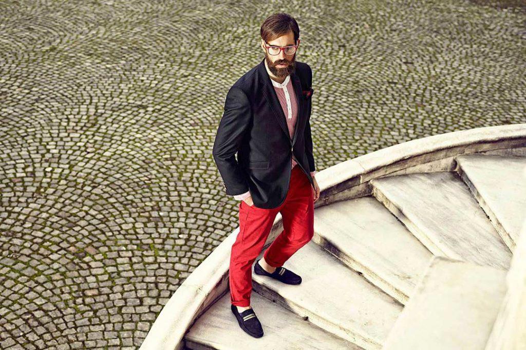 Victor Baron Erkek Giyim Fotoğraf Çekimi