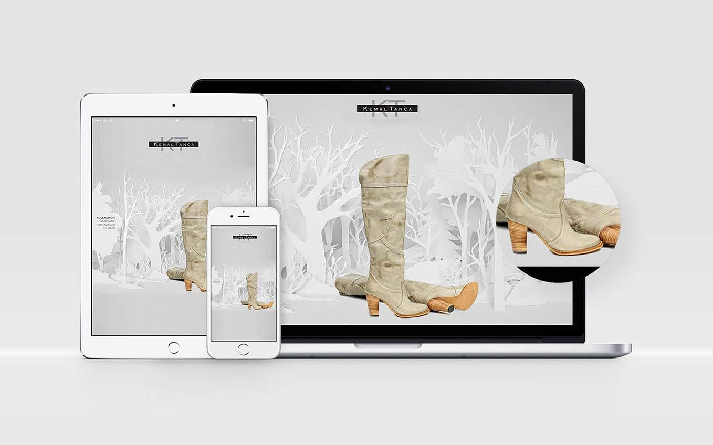 Kemal Tanca web design