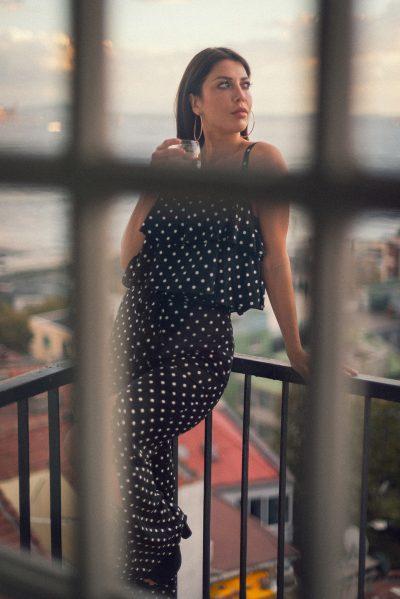 Fashion portraits of Kaya, fashion blogger, instagrammer.
