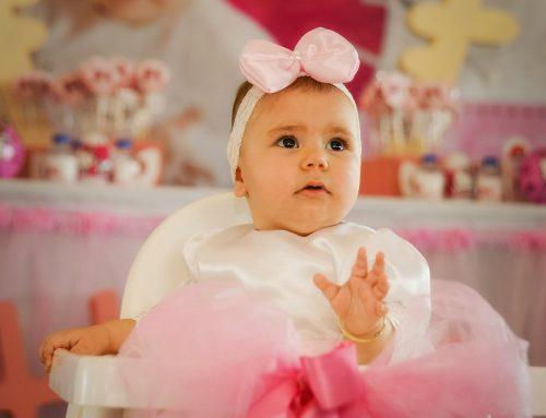 Masal bebek ilk yaş günü fotoğraf çekimi
