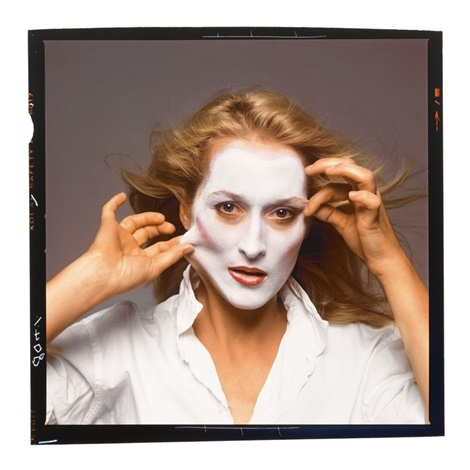 Annie Leibovitz Meryl Streep NYC 1981