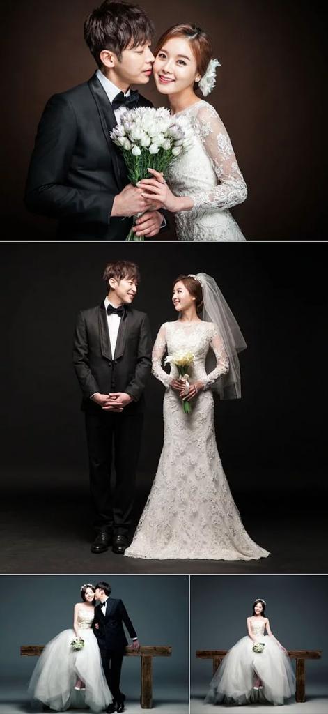 Kore tarzı düğün fotoğraf çekimi